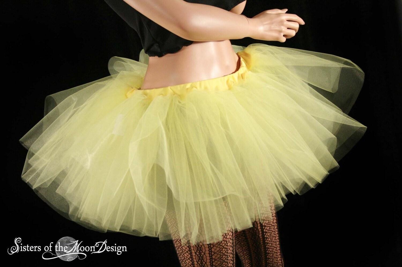 Sunshine Yellow Extra Poofy Tutu Skirt Adult You Choose