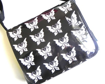 Butterfly small satchel