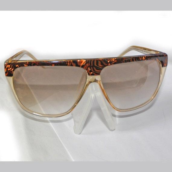 Vintage 1980's Laura Biagiotti Supersized Sunglasses