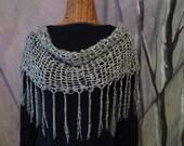 River Birch Cape Cowl Shawl Velvet Capelet Womens Autumn Fashion