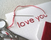 DIY Embroidery Card Kit - 5 Charming Cards