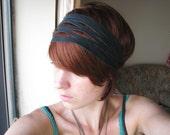 The Deco Headband in Black
