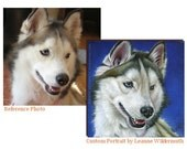 Custom Pet Portrait in Oil by Leanne Wildermuth