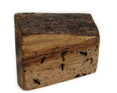 Your Very Own Ant Colony  - Eco Friendly Upcycled Rustic Natural Walnut Pyrography Wood by Tanja Sova