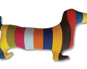 New Happy DOXIE SILHOUETTE DACHSHUND pillow