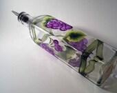 Purple Grapes Oil Bottle