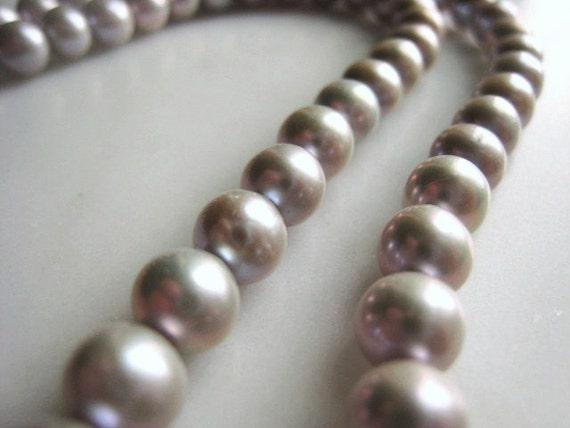 RESERVED 7mm Silver Potato Freshwater Pearl Half Strand Item No. 1132 Regular Price 14.66