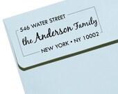 "Personalized Self Inking Stamp Wedding Gift, Return Address, Etsy Shop Labels ""Name44"""