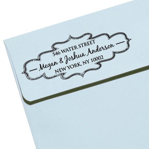 Personalized Self Inking Stamp Wedding Gift, Return Address, Etsy Shop Labels - Vintage2