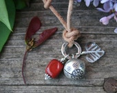 Birth and Pregnancy Amulet Necklace with Supportive Gemstones