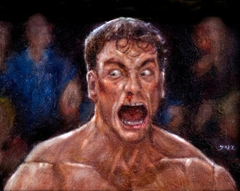 JCVD Screaming his F--king Face Off
