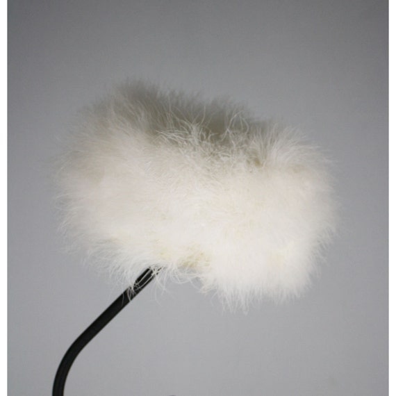 50's Vintage Marabou Feather Pill Box Hat