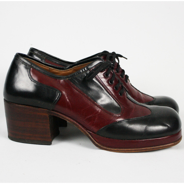 Mens Vintage Platform Shoes 79
