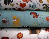 Fat quarter from Max and whiskers fabric by Moda