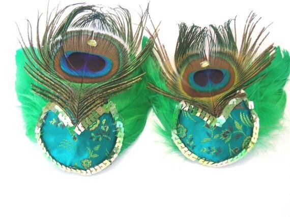 Peacock Nipple Tassel Pasties