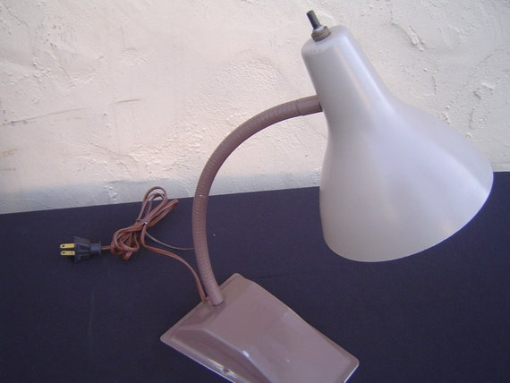 Industrial  Vintage Gooseneck Desk Task Lamp with Adjustable Cone