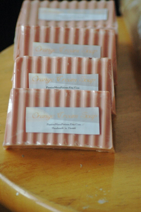 Orange Cream Soap