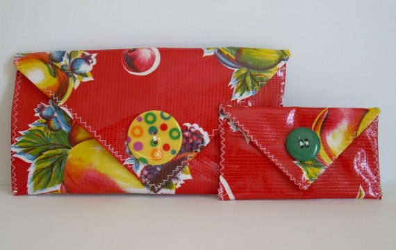 Beach Wallet - Red
