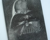 Darth Vader Recycled Notebook