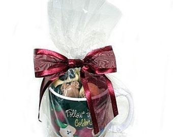 9 x 12 Crystal Clear Cellophane Bags - 100/pk - Coffee Mug Bags