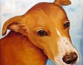 Custom Pet Portrait - Reserved for yjja123
