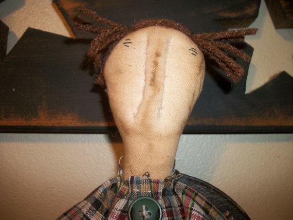 Primitive Plain and Simple rag doll