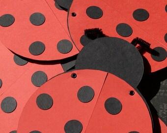 Ladybug invitation set