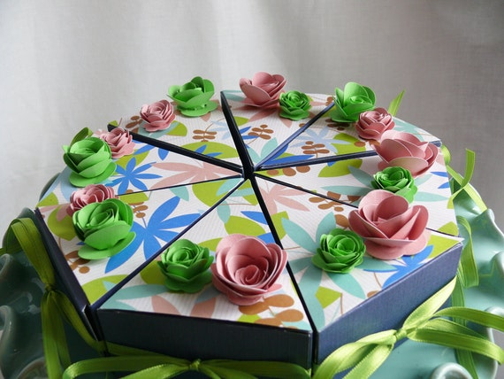 Etsy Cake Favor Boxes : Cake favor boxes perfect for weddings showers parties
