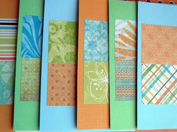 Handmade note cards----Grandma's Kitchen  set of 6