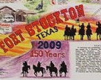 Poster of Fort Stockton, Texas