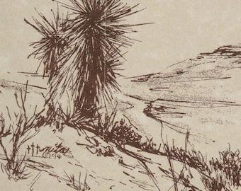 Desert stationery