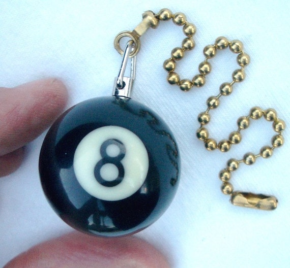 8 Ball Decorative Ceiling Fan Pull Chain By Famousfanpulls