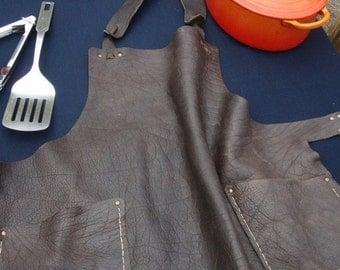 Leather BBQ Apron