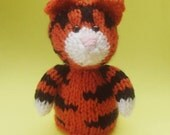 Tiger Toy Knitting Pattern (PDF)