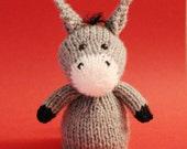 Donkey Toy Knitting Pattern (PDF)