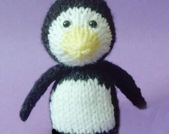 Penguin Toy Knitting Pattern (PDF)