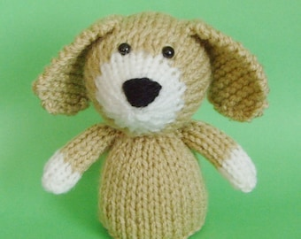 Free Knitting Pattern Toy Puppy : Dachshund Dog Stuffed Toy Vintage Knitting Pattern By Karensvariety Dog Bre...