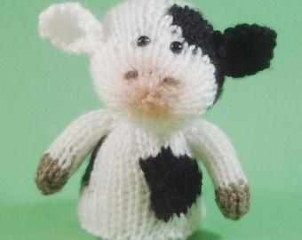 Cow Toy Knitting Pattern (PDF)