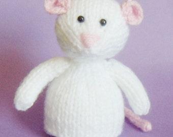 Mouse Toy Knitting Pattern (PDF)