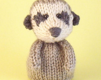 Meerkat Toy Knitting Pattern (PDF)