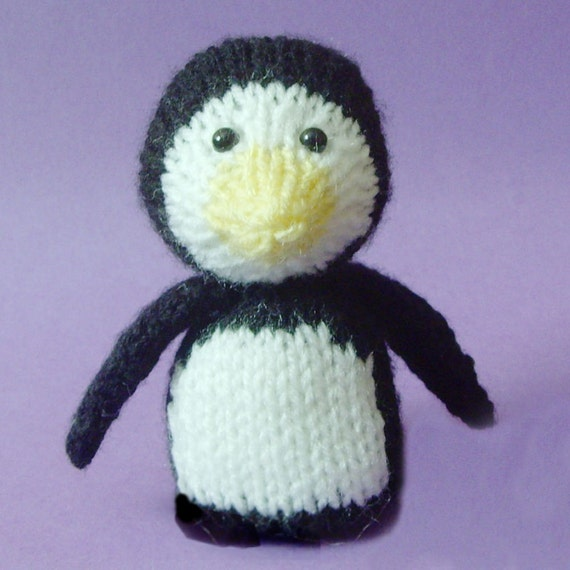 Penguin Toy Knitting Pattern (PDF)