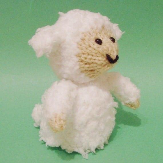 Sheep Egg Cosy Knitting Pattern : Sheep Toy Knitting Pattern (PDF) from Jellybum on Etsy Studio
