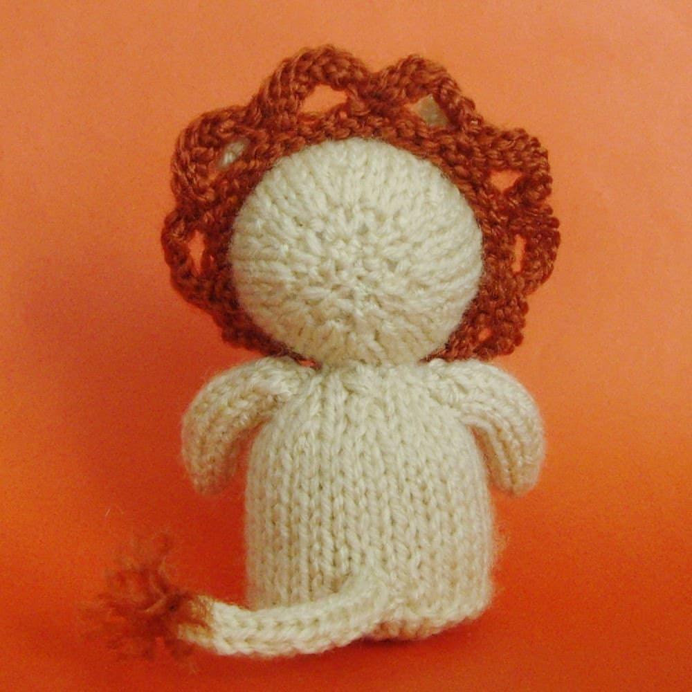 Lion Knitting Pattern Toy : Lion Toy Knitting Pattern (PDF) Legs, Egg Cozy & Finger Puppet instructio...