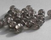 6mm Black Diamond Crackle Glass Druk (25)