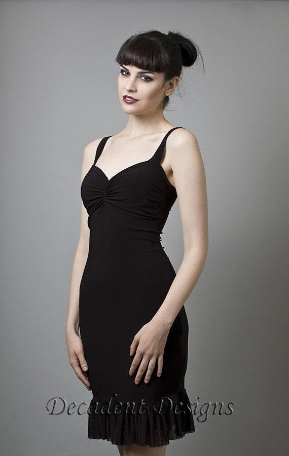 Black Cocktail Dress-Small (Sample Sale)
