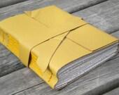 Handbound Leather Journal - Honey