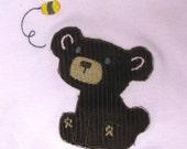 Bear with Bee Bodysuit or Tee Shirt