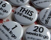 Mother-to-Be Countdown Pins