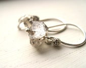 Herkimer Diamond Earrings Ice Winter Wonderland Sterling Silver by Vitrine Bridesmaid gift wedding jewelry Gift for her Under 50