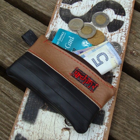 Eco friendly mini peata pocket made from bicycle inner tube